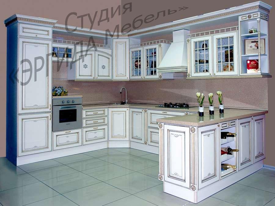 Кухня Афина из ясеня