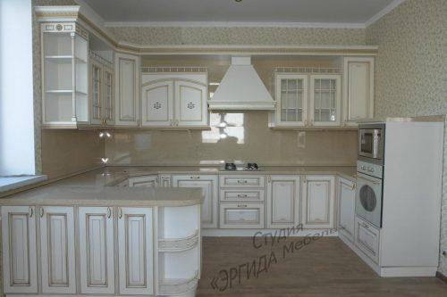 Кухня Афина ОРО, массив ясеня