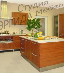 Кухня Капри с островом
