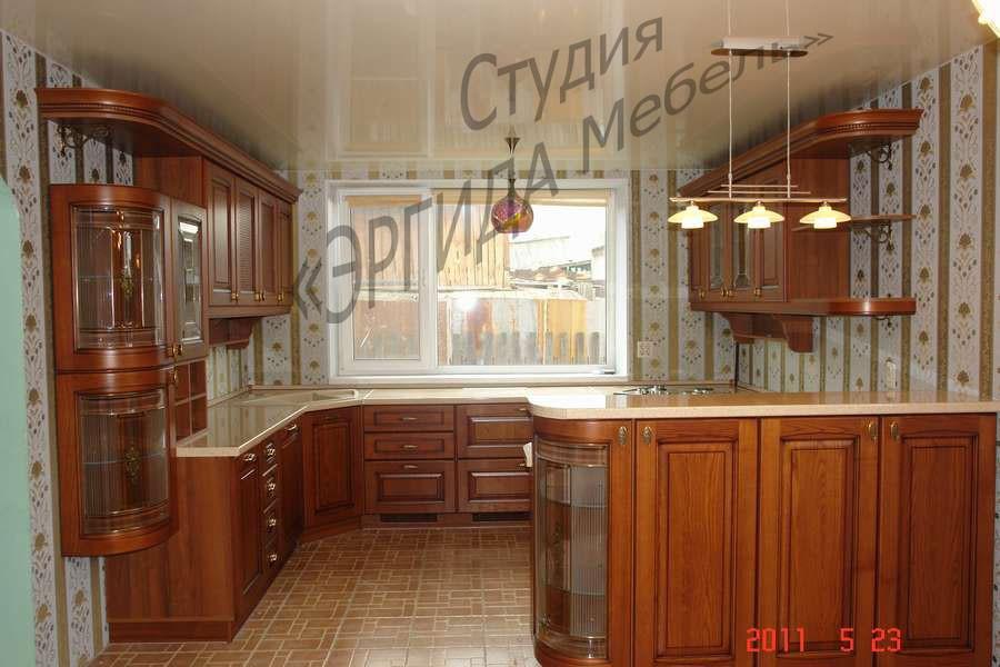 Кухня sorrento - галерея работ эргида мебель.
