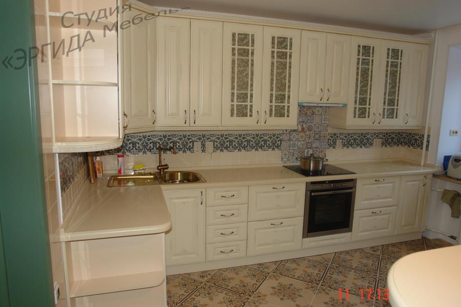 Кухня Афина (массив ясеня) колор №20