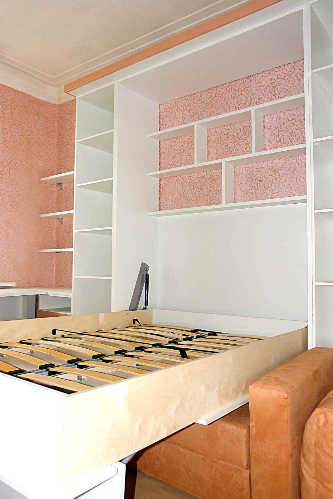 Шкаф кровать трансформер с диваном