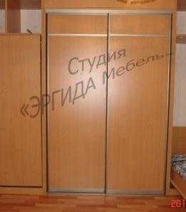 Шкаф купе с вертикальной складной кроватью