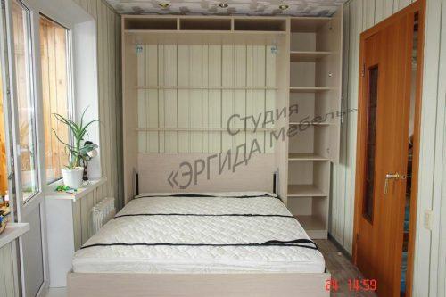 Шкаф-кровать цвет клен