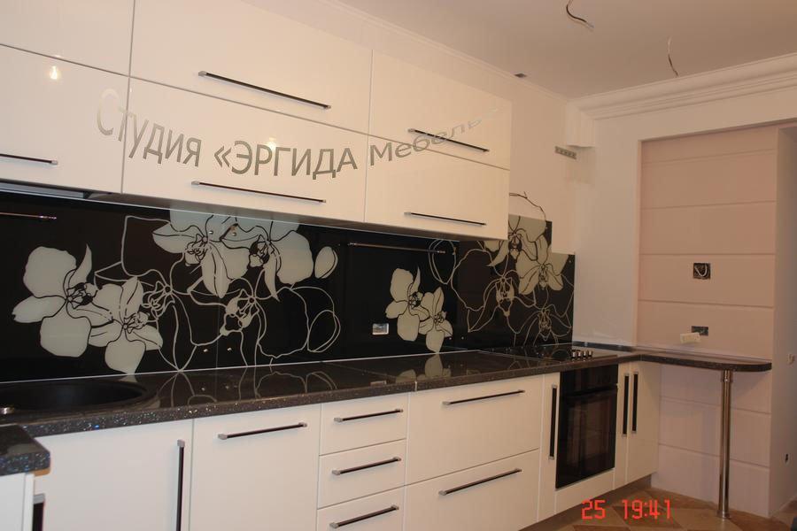 """Орхидея"" - фасады белый пластик"