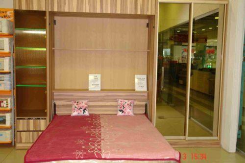 Шкаф кровать 1750*2250 мм. со шкафом купе и пеналом