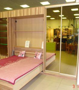Шкаф купе + кровать трансформер