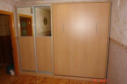 Шкаф кровать + шкаф купе