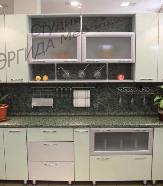 Прямая кухня 2,5 метра