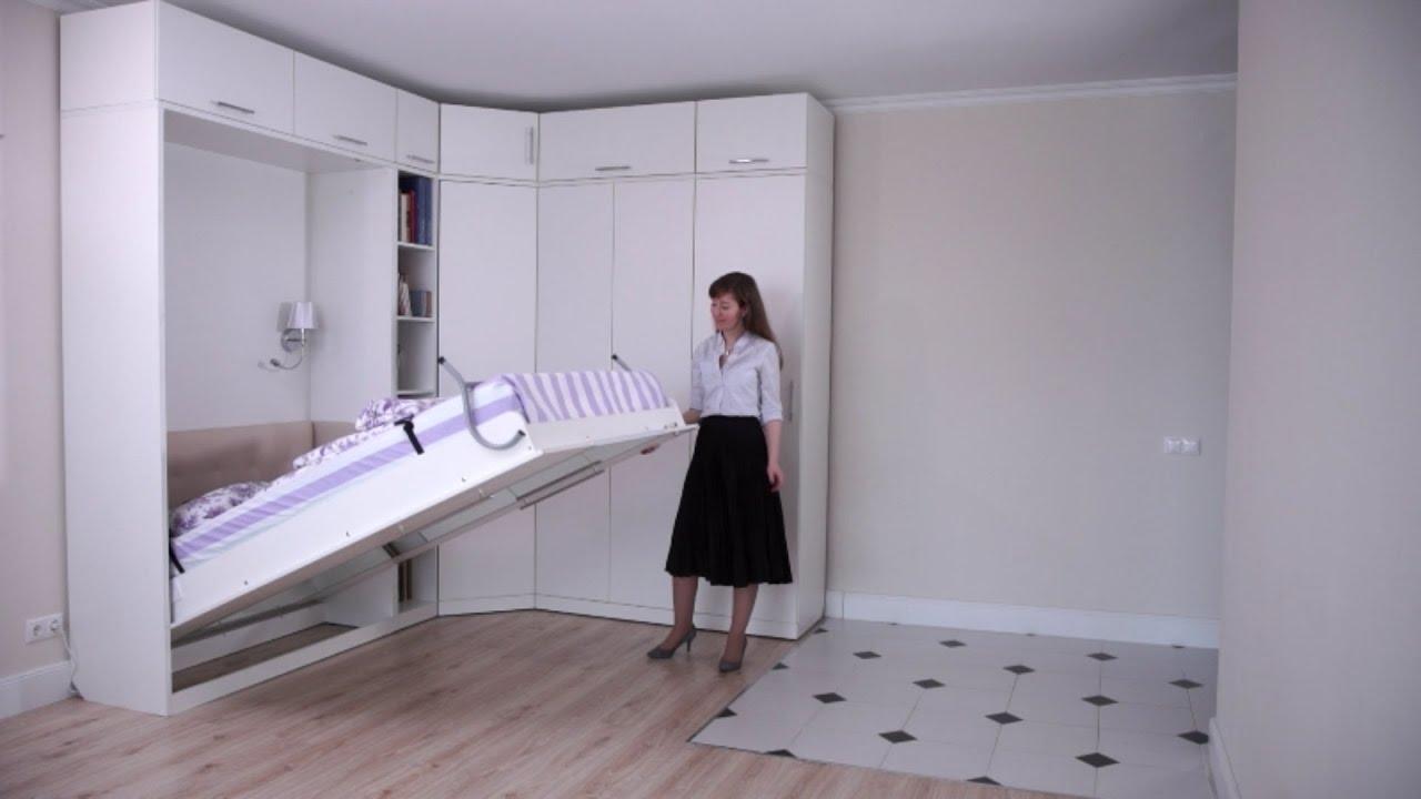 купить кровать шкаф трансформер