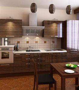 Кухня Зебрано