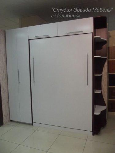 Шкаф-книжка + шкаф-кровать + угловой модуль