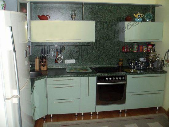 Кухня с облегченным верхом